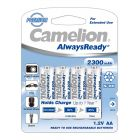 "Camelion 2300mAh aku AA NiMh ""AlwaysReady"" 4tk"