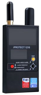 iProtect 1216 Counter surveillance 3-band RF detector