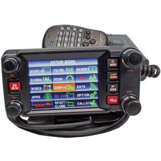 Yaesu FTM-400XDE dual band mobile transceiver 144/430 MHz