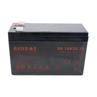 REDDOT DD 12070-T2 C20 12V 7Ah aku jahikaameratele