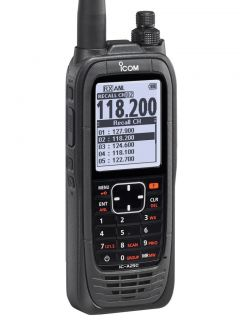 Icom IC-A25CE aviation transceiver