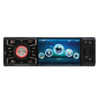 MP5 player Clementine 9545 1DIN display 4 inch, 50Wx4, Bluetooth, FM radio, SD and USB, 2 RCA video IN / OUT