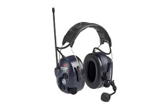 3M Peltor MT7H7A4410-EU LiteCom III noise cancelling headsets with PMR446 transceiver