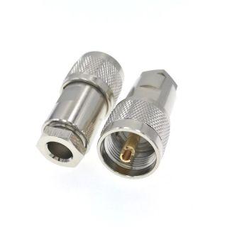 UHF isane pistik monteeritav RG213/HF400