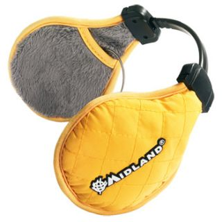 Midland Subzero Music - Yellow earwarmer stereo headset for iPhone/iPod