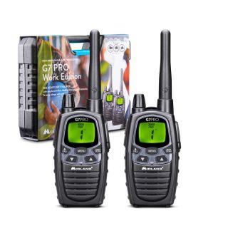 Midland G7 Pro Work Edition - 2 Radios + Accessories