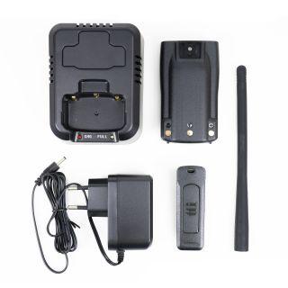 Lisavarustuse komplekt TTi TCB-H100 käsisaatjale, aku, laadija ja antenn