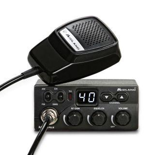 Midland M ZERO PLUS mobile transceiver CB 27MHz AM/FM