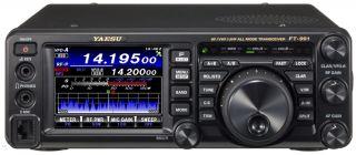 Yaesu FT-991A kompaktne transiiver HF/6m/2m/70cm, k.a C4FM digitaal režiim