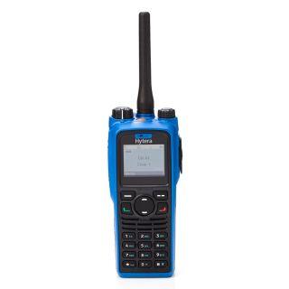 Hytera PD795Ex ATEX digitaalne käsiraadiosaatja, 1W, GPS ja ManDown, 1800mAh Li-Ion, kiirlaad. 3h, 136-174MHz VHF