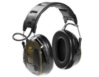 3M PELTOR ProTac Hunter Headset, 26 dB, Green, Headband, MT13H222A