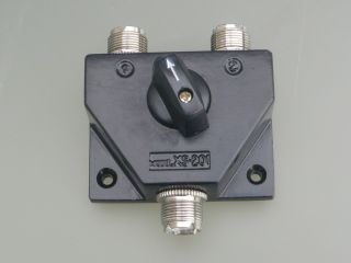 CO-201PL Coaxial Antenna Switch, 2-Position Rotary Switch