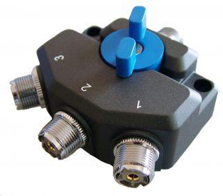 D-Original AVSW3M antenni lüliti 3-positsiooniline UHF-pistikud