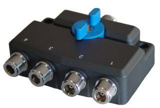 D-Original DXSW4N antenni lüliti 4-positsiooniline N-pistikud