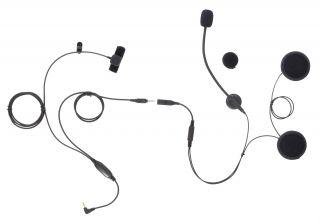 Motocomm RS-2 Helmet Headset for OPEN FACE and FULL FACE Helmets