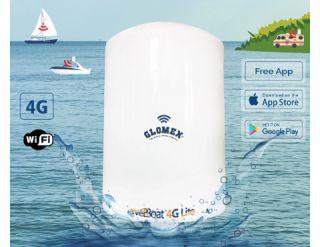 Glomex WEBBOAT 4G LITE 4G and WiFi Coastel Internet Antenna System
