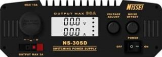 Nissei NS-30SD Power Supply, Switch Mode, 9 - 15 VDC, 25/30A