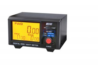Nissei DG-503 Digital SWR-Power Meter 1.6 - 60 and 125 - 525 MHz, 0 - 200 Watt