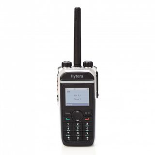 Hytera PD685G handheld transceiver with GPS IP67, 400-527Mhz, Power 1 - 5 watts, DMR Tier II and analogue conventional mode