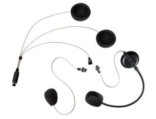 Albrecht COHS Universal-Headset for motorbikes with 2 microphones for open&closed helm