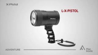 Pistol searchlight, X-Pistol, 400 lm, Focus