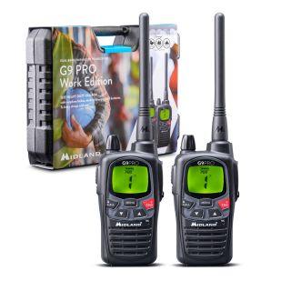 Midland G9 Pro Work Edition - 2 Radios + Accessories
