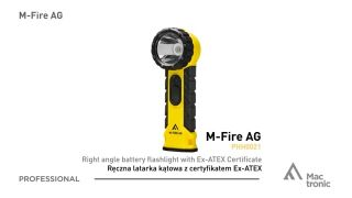 Flashlight, Mactronic M-FIRE AG, 270 lm, battery operated (4x AA), set (batteries), box