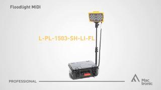 Floodlight Midi, 6500 lm