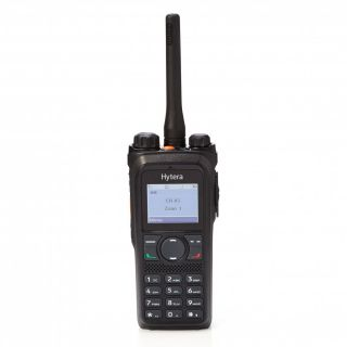 Hytera PD985 Digital Portable Radio with display and keypad, 136-174MHz, Li-Ion battery 2000mAh, charger