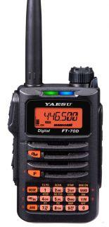 Yaesu FT-70DE C4FM/FM 2m/70cm Dual Band Handheld