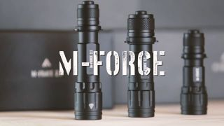 Mactronic THH0101 Battery tactical flashlight, lightest in the series, 320lm, M-Force 1.1