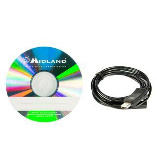 Midland PRG-GB1 programmeerimis tarkvara ja kaabel GB1-le