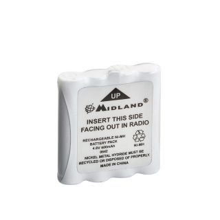 Midland PBG6/G8 aku 800mAh NiMh G6/8 ja M48/99-le