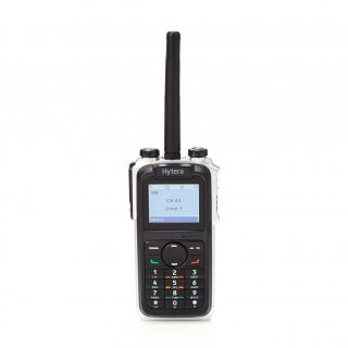 Hytera X1p Digital Portable Two-Way Radio, LCD, keypad, BT, GPS, 1400mAh LiIon battery, fast desktop charger 136-174MHz VHF