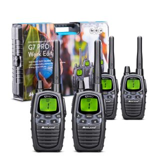Midland G7 Pro Work Edition - 4 Radios + Accessories