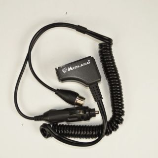 Midland Alan 42 Car adapter with socket external antenna SO239