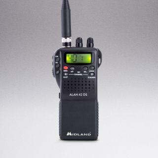 Midland ALAN 42DS handheld transceiver CB 27MHz