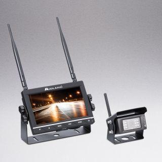 Midland TRUCK GUARDIAN WIRELESS - juhtmevaba kaamera ja monitori süsteem rekkale
