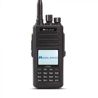 Midland CT990 dual band käsiraadiosaatja 10W VHF/UHF