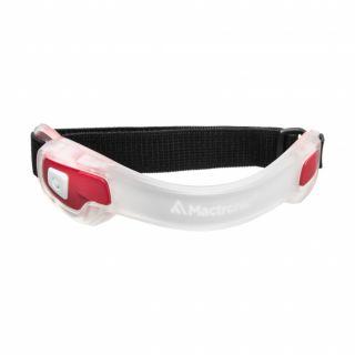Mactronic JOGG LED velcro käepael, punane valgus 140lm, 2 x CR2032, 2 punast LED-i, 40h