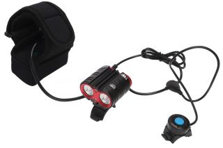 Mactronic Super strong bike headlight, 2200 lm, T-ROY, 5220mAh Li-Ion battery