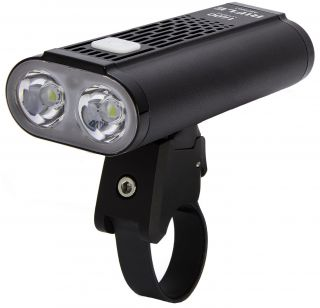 Mactronic RIFLE powerful bicycle front light 1400 lm, rechargeable Li-ion 5200 mAh