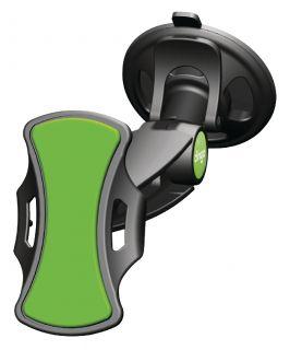 Clingo Universal nutitelefoni hoidja must / roheline