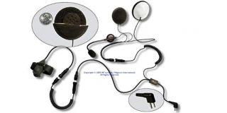 Motocom MC754 open face helmet set for HYT TC700/600/518/610 and Motorola GP300/CP040