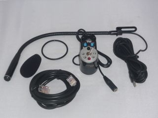 AV-1KM CB6PIN Handsfree Kit compatible with CB Radios using a 6-Pin connector Telecom