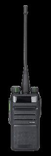 Hytera BD555UB digitaalne käsiraadiosaatja, BT, 1500mAh Li-Ion, kiirlaad. 3h, 400-470MHz UHF