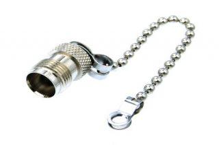TNC jack cap+chain ACC-36-07-1-00N