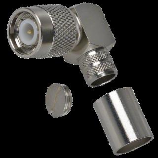 TNC plug crimp R/A for H155 TNC-17-34-1-J-TGN