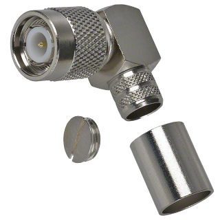 TNC isane pistik pigistatav nurgaga H155/RF240-le TNC-17-34-1-J-TGN