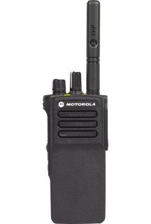 Mototrbo DP4401E portable radio with 2100mAh LiIon battery, 403-527MHz, 4W, GNSS, BT WIFI